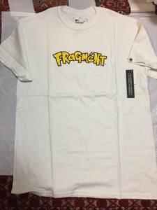 = fragment design Pokemon フラグメントデザイン ポケモン コラボ Tシャツ Mサイズ ロゴ 藤原ヒロシ HF ピカチュウ