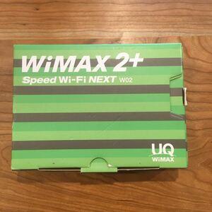 WiMAX02 モバイルルーター グリーン