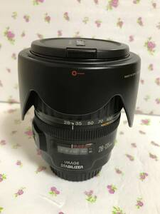 CANON ZOOM EF 28ー135mm f 3・5ー5・6 IS 良品