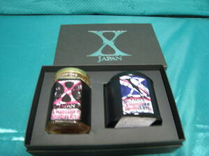 X-JAPAN ローズティー&ローズジャムセット・中古未開封(賞味期限切れ)