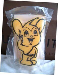 ◆ レア 非売品 警視庁 マスコット ピーポーくん スポンジ 東京防犯協会連合会 ノベルティ 未使用