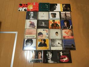 S] 即決 0248 福山雅治 CD アルバム シングル 23枚セット 5年モノ | M collection | HUMAN | SLOW | ANOTHER WORKS | 残響 | BOOTS | 他