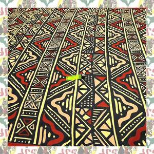 【SALE】アフリカンプリント生地 布 180cmx110cm(2ヤード) アフリカ布 アフリカ生地 アフリカ バティック ハンドメイド素材 barg-a098