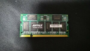[ identification ka]* summarize successful bid welcome * for laptop memory DDR SO-DIMM DDR266 PC2100 512MB Buffalo AN266-A512