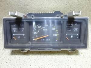 191003☆旧車 ホンダ TC アクティトラック 1985年(昭和60年) 4WD/MT用 スピードメーター☆