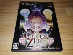 ★送料無料・PS2ソフト★CLOCK ZERO クロックゼロ 終焉の一秒