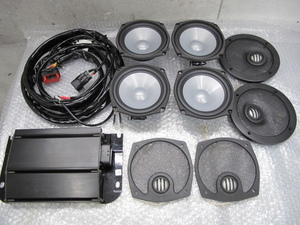 H-D original OP Boom! audio touring 06-13 inspection Ultra front rear speaker Harley FLHTCU FLHTK FLHX FLHXSE CVO Tour pack