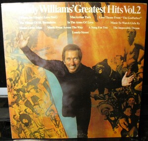 【LPレコード】Andy Williams Andy Williams' Greatest Hits Vol. 2