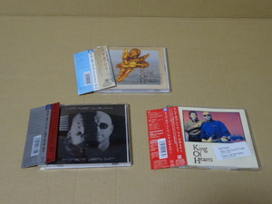 KING OF HEARTS「キング・オブ・ハーツ/ジョイ・ウィル・カム/マイ・デザイアー」3種の中古CD