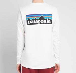 XSサイズパタゴニア ロングスリーブtシャツ P-6ロゴ レスポンシビリティー