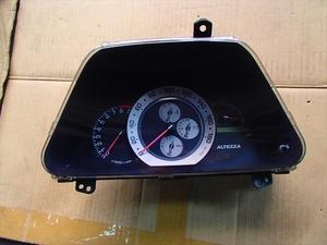 アルテッツァ SXE-10 純正MTスピードメーター