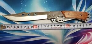 レジャー 折りたたみ ナイフ キャンプ用品 フォールディングナイフ