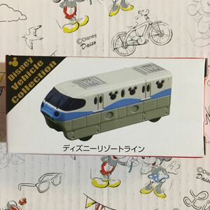 TDR 限定 ブルーライン ディズニー トミカ リゾートライン ミッキー 先頭車両 Disney Vehicle Collection mickey RESORT LINE 水色