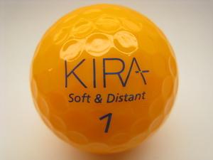 Iクラス 2012年 キャスコ KIRA Soft&Distant オレンジ ロゴマーク入り 1球/ロストボール バラ売り