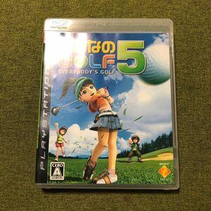 PS3 みんなのGOLF 5
