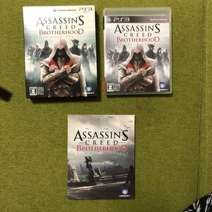 PS3 アサシン クリード ブラザーフット初回限定版