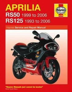 整備書 整備 修理 サービス マニュアル Aprilia アプリリア RS50 1999 - 2006 & RS125 1993 - 2006 RS 125 50 ^在