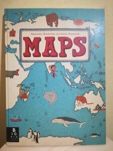 超美品 MAPS 英語 絵本 知育絵本 マップス
