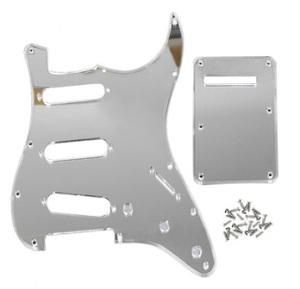 ストラトキャスター用 ミラーピックガード Silver Mirror usa規格 stratocaster ストラト 改造 修理 カスタム エレキギター