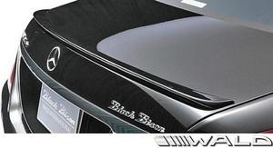 【M's】W222 Sクラス 前期/後期 (2013y-) WALD BLACK BISON トランクスポイラー//FRP ヴァルド バルド ベンツ エアロ ウイング