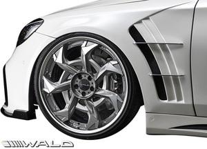 【M's】W222 ベンツ Sクラス 前期/後期 (2013y-) WALD BLACK BISON スポーツフェンダーダクト LR/FRP ヴァルド バルド エアロ フェンダー