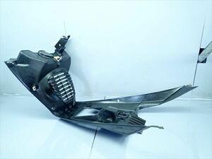 βAW01-1 ヤマハ マジェスティ125FI MAJESTY (H19年式) 純正 フロントアンダーカウル インナー 割れ無し!一部ねじ崩れ有り!