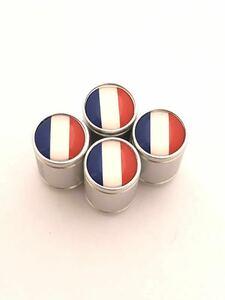フランス 国旗 ホイール エア バルブキャップ シトロエン CITROEN 2CV6 BX C2 C3 C4 ピカソ C5 C6 CX DS3 DS4 b