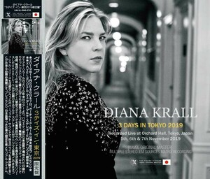 Diana Krall「3 Days in Tokyo 2019 -XAVEL ORIGINAL MSATER-」 プレス5CD / IEMマトリクス / XAVEL 11/5&6&7東京公演