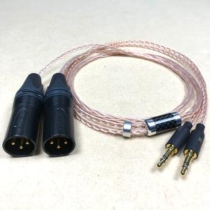 MDR-Z7用リケーブル 8芯 MOGAMI2944 XLR3ピン×2 120cm ヘッドホン モガミ SONY JVC HA-SW01 beyerdynamic T1 2nd