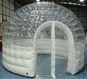 透明ドームテントは色々な場面で注目されます!