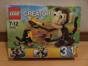 絶版レゴ (LEGO) クリエイター・モンキー&バード 31019 開封済ですが説明書有、全パーツ有の美品