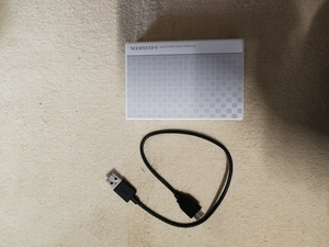 I-O DATA ポータブルハードディスク 2TB ハードディスク収納持ち運びケース付き