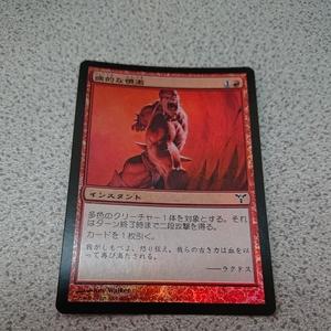 MTG DIS 病的な憤激 日本語foil 一枚 即決