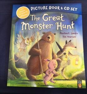 大型英語絵本 CD付き The great monster hunt