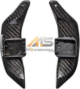 【M's】AUDI アウディ A3/S3 A4/S4 A5/S5 A6/S6 A8/S8 WALD カーボンパドルシフト(左右/1SET)//受注生産 ヴァルド バルド CABON 社外品