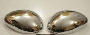 free shipping Alfa Romeo 147 Shiny Chrome Mirror Caps Covers Alpha Romeo mirror cover mirror cap cover