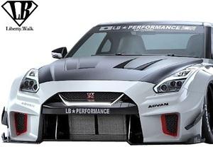 【M's】日産 R35 GT-R (2007y-) LB-Silhouette WORKS GT 35GT-RR フロントバンパー//FRP GTR エアロ Liberty Walk リバティーウォーク