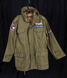 [Antique] [Delivery Free]About1975 United States Air Force German version Jacket Military Wear[tag0000]