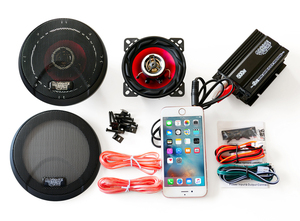 for motorcycle audio kit ( amplifier & speaker M) Majesty Fusion