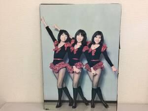昭和レトロ キャンディーズ パネル やさしい悪魔 ラン スー ミキ 40.5cmx57.5cm   G5