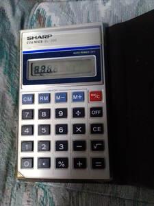 SHARP シャープ 電卓 ELSI MATE EL-330 エルシーメイト 中古 昭和レトロ