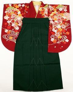 [京の舞姿]二尺袖着物袴2点セットneh22