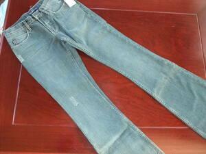 アールジーンEarl Jean 75JEANブーツカット デニム パンツ 24 新品