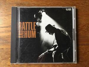 国内盤CDアルバム『魂の叫び』(Rattle and Hum) U2