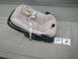 Maxi-Cosi maxi kosi2 point set baby seat set base. button . coming off ., but, without any problem use is possible to do