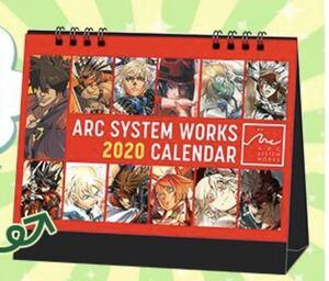 c97 アークシステムワークス 2020年度特製カレンダー ギルティギア GUILTYGEAR ARC SYSTEM WORKS 非売品