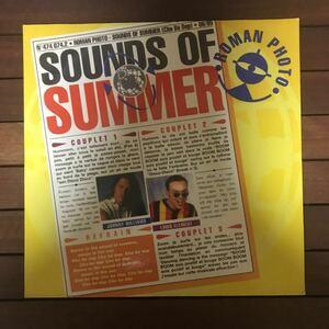 ●【eu-rap】Roman Photo / Sounds Of Summer[12inch]オリジナル イタリア盤《4-1-44》