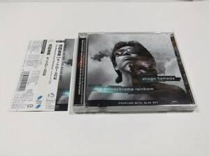 浜田省吾 モノクロームの虹 帯付き CDシングル 読み込み動作問題なし 中古品 1998年発売