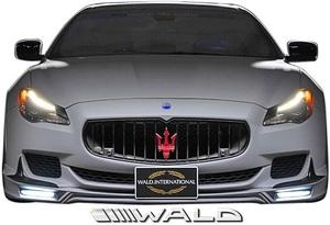 【M's】Maserati クアトロポルテ (2013y-2017y) WALD EXECUTIVE LINE フロントスポイラー//未塗装 ヴァルド バルド マセラティ エアロ