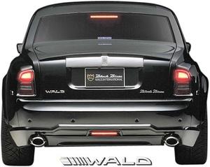 【M's】ロールスロイス ファントム (2003y-2008y) WALD Black Bison リアバンパースポイラー//FRP製 ヴァルド バルド エアロ ロールス